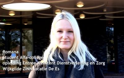 Video voor Alfa-College en ZINN
