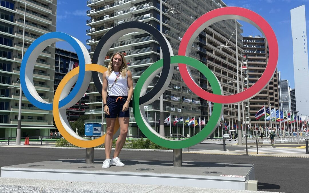 Atlete Leonie van Vliet over de Olympische Spelen
